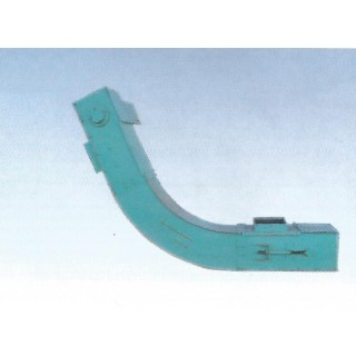 Drag chain conveyer with high paddles - фото - 3