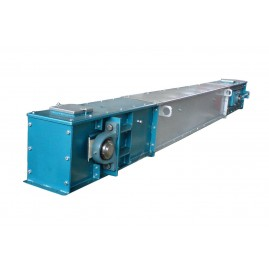 Drag chain conveyer with low paddles - фото - 2