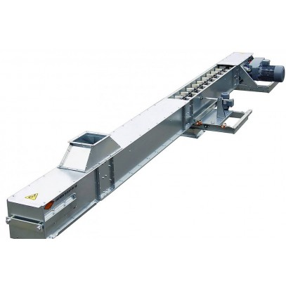 Drag chain conveyer (under the hopper) У10-КСЦ-100.Н - фото - 3