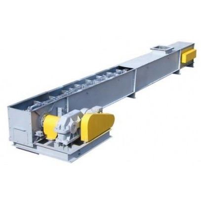 Drag chain conveyer (under the hopper) У10-КСЦ-100.Н - фото - 2